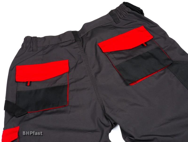 bee89b73d0 BHPfast.pl Super Spodnie Robocze CLASSIC-RED (Spodnie do pasa ...